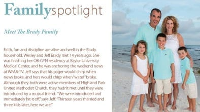 Brady Family Spotlight in University Park Life