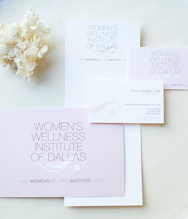Women's Wellness Institute of Dallas stationary