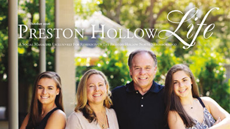 Preston Hollow Life Magazine Cover