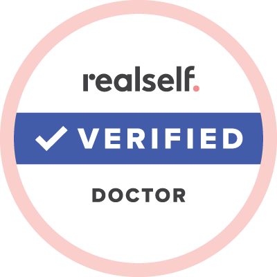 RealSelf Verified Doctor emblem